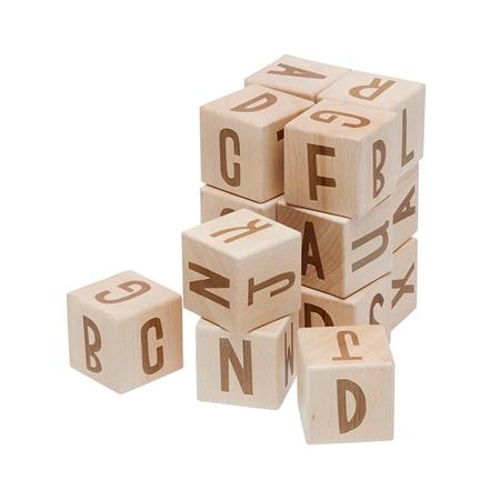 Immagine di Sebra®  Cubi in legno con lettere Wood