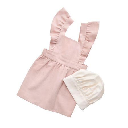 Immagine di Sebra®  Grembiule e cappello per bambini Dusty Pink/Classic White