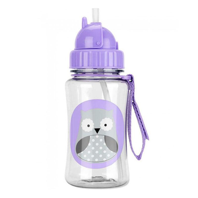 Immagine di Skip Hop® Borraccia con cannuccia Owl