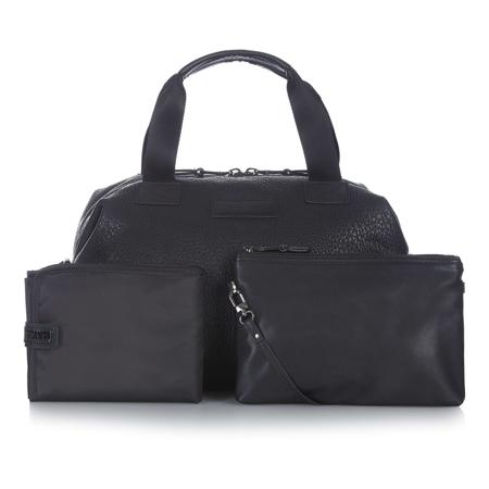 Tiba+Marl® Borsa fasciatoio Raf Holdall Faux Black