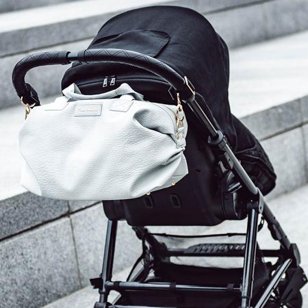 Tiba+Marl® Attacco per agganciare una borsa/zaino al passeggino Metal Gold