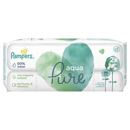 Pampers® Salviettine Aqua Pure 2x48 pezzi