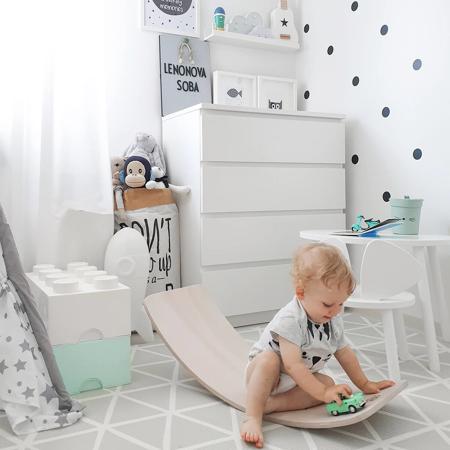 Immagine di Kinderfeets® Kinderboard Montessori White Wash