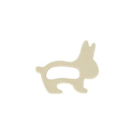 Jollein® Massaggiagengive in legno Rabbit