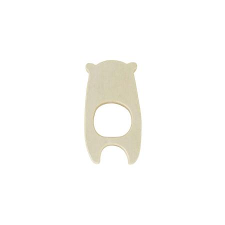 Jollein® Massaggiagengive in legno Bear