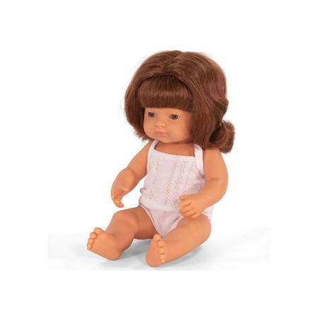 Immagine di Miniland® Neonato Redhead Girl 38cm
