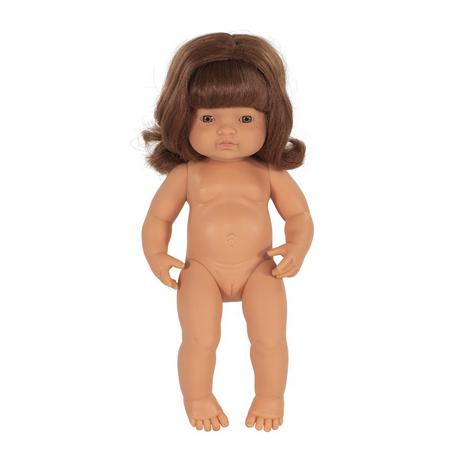 Miniland® Neonato Redhead Girl 38cm