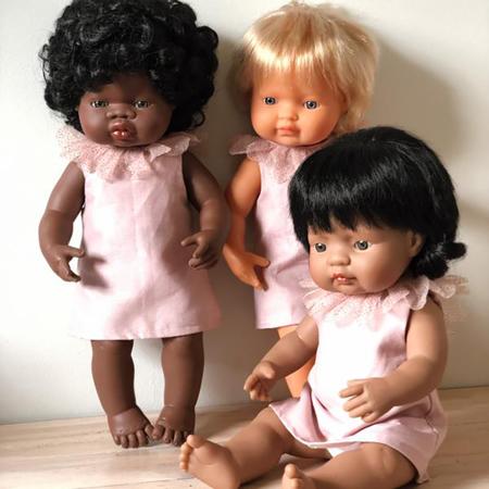 Immagine di Miniland® Neonato African Boy 38cm