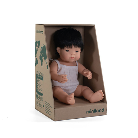 Miniland® Neonato Asian Boy 38cm