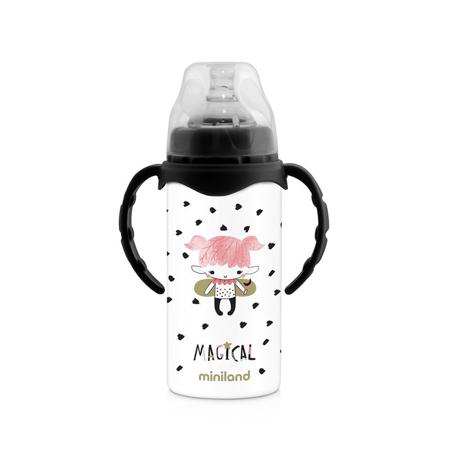 Immagine di Miniland® Bottiglia termica con ciuccio Magical 240ml