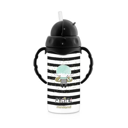 Immagine di Miniland® Bottiglia termica con cannuccia Magical 240ml