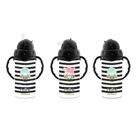 Miniland® Bottiglia termica con cannuccia Magical 240ml