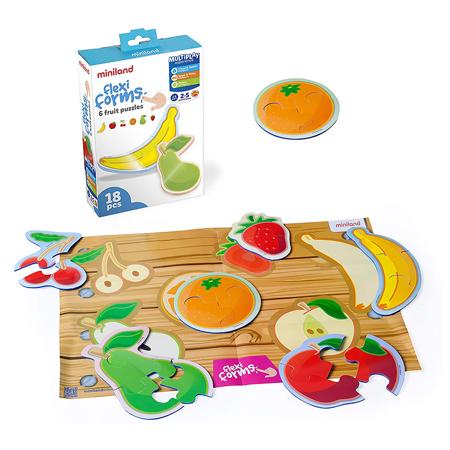 Immagine di Miniland® Gioco di societa Flexiform 6 Fruit