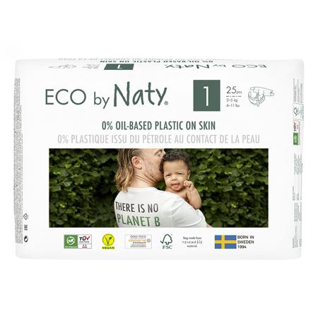 Immagine di Eco by Naty® Pannolini ecologici 1 (2-5 kg) 25 pezzi