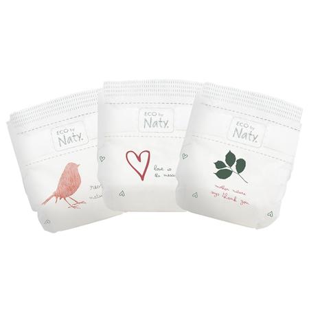 Eco by Naty® Pannolini ecologici 1 (2-5 kg) 25 pezzi