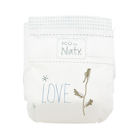Immagine di Eco by Naty® Pannolini ecologici 2 (3-6 kg) 33 pezzi