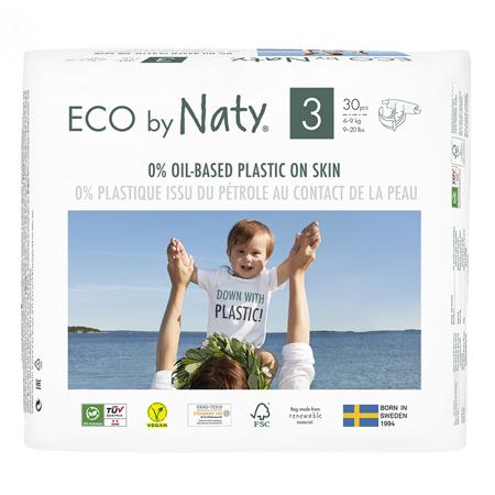 Immagine di Eco by Naty® Pannolini ecologici 3 (4-9 kg) 30 pezzi
