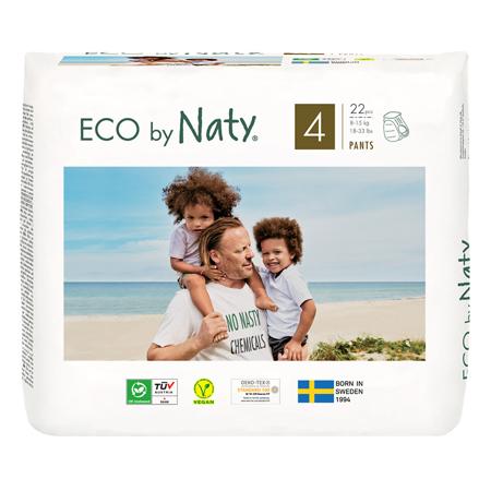 Immagine di Eco by Naty®  Pannolini a mutandina 4 (8-15 kg) 22 pezzi