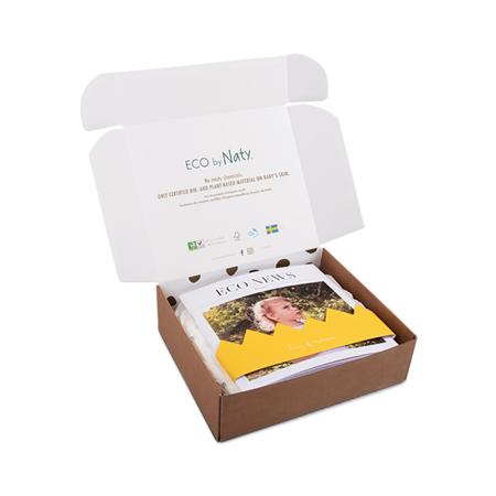 Eco by Naty® Scatola sperimentale 4 (7-18 kg) 10 kosov