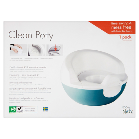 Eco by Naty® Vasino Plant based Potty