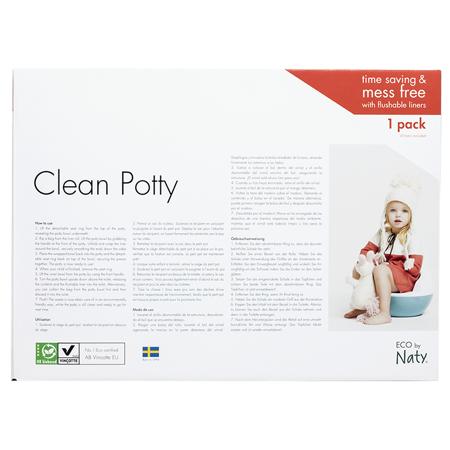 Immagine di Eco by Naty® Vasino Plant based Potty