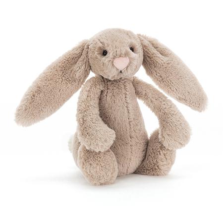 Immagine di Jellycat® Peluche coniglio Bashful Beige Small 18cm