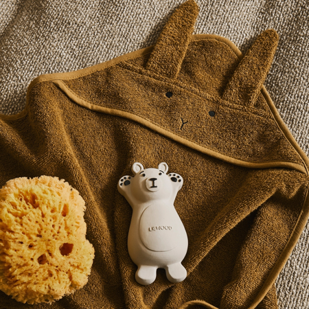 Liewood® Set 2 giochi per il bagnetto Knud Polar Bear/Penguin Rose Mix