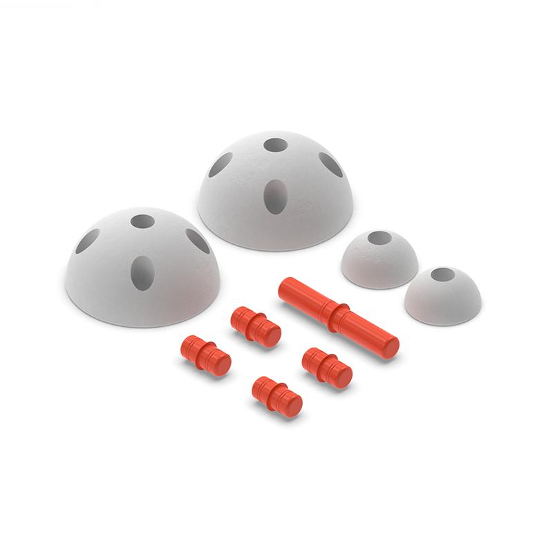 Immagine di Modu® Mezze sfere Half Balls Red