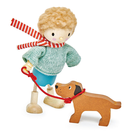Tender Leaf Toys® Mr. Goodwood e il suo cagnolino