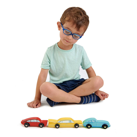 Immagine di Tender Leaf Toys® Macchine in legno Retro