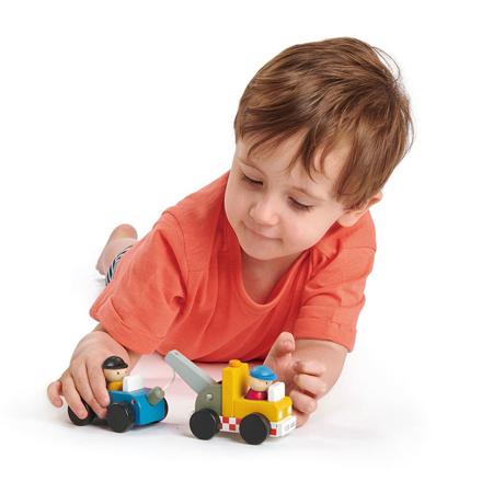 Tender Leaf Toys® Servizio di rimorchio Tow Truck