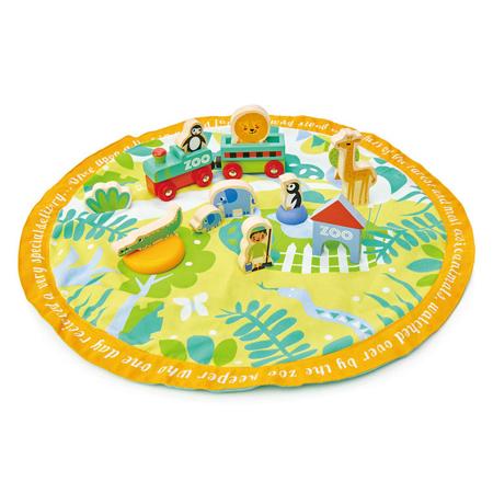 Immagine di Tender Leaf Toys® Tappetino da gioco Safari Park