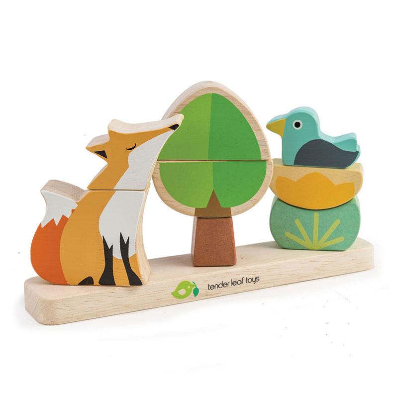 Immagine di Tender Leaf Toys® Gioco di attività Foxy Magnetic Stacker