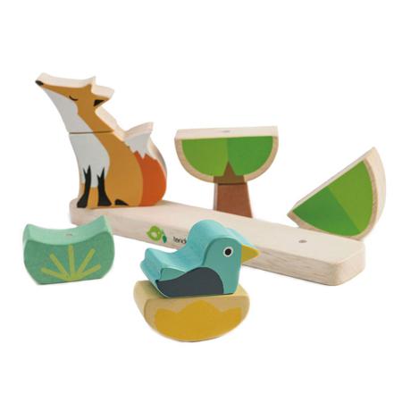 Tender Leaf Toys® Gioco di attività Foxy Magnetic Stacker