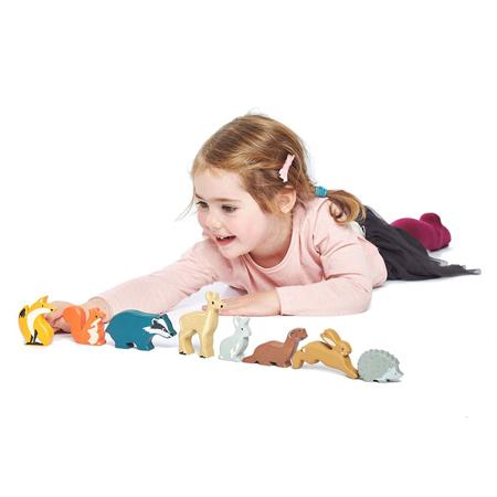 Immagine di Tender Leaf Toys® Animali in legno Woodland Animals