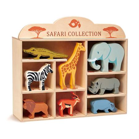 Immagine di Tender Leaf Toys® Animali in legno Safari Collection
