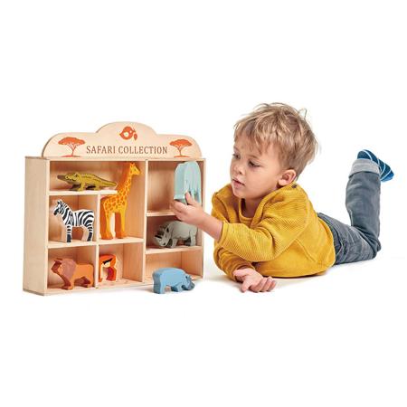 Tender Leaf Toys® Animali in legno Safari Collection