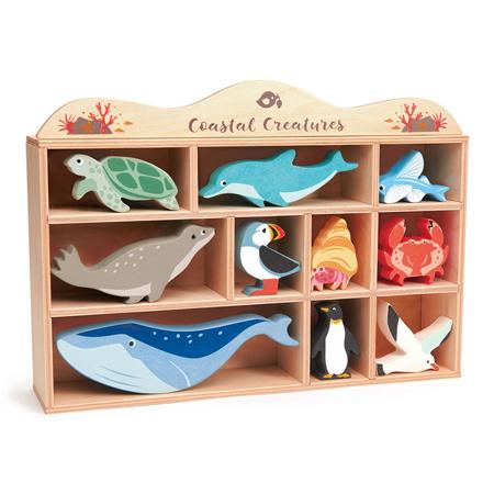 Immagine di Tender Leaf Toys® Animali marini  in legno Coastal Creatures