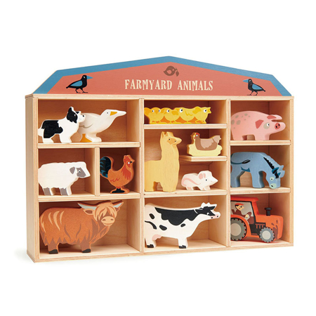 Immagine di Tender Leaf Toys® Animali in legno Farmyard Animals