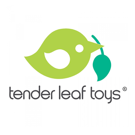 Tender Leaf Toys® Appendino in legno verticale Forest Coat Stand