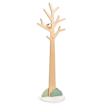 Immagine di Tender Leaf Toys® Appendino in legno verticale Forest Coat Stand