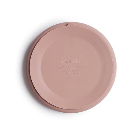 Immagine di Mushie® Piatto diviso in silicone Blush