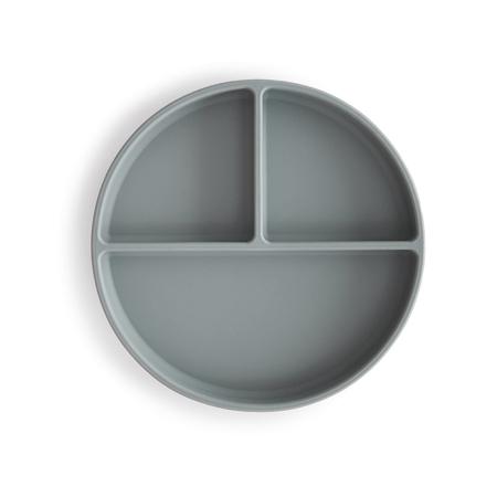 Mushie®  Piatto diviso in silicone Stone