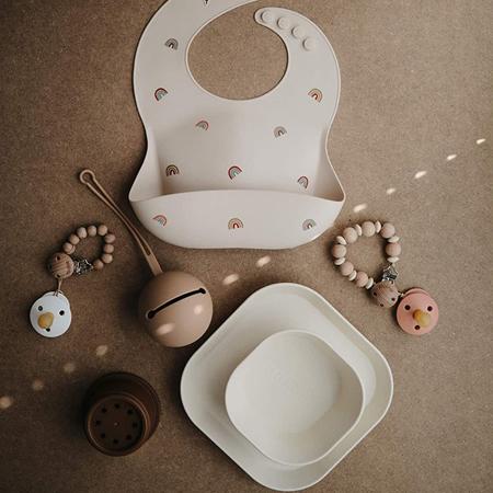 Immagine di Mushie® Set di due ciotole Blush