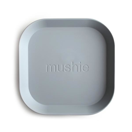 Mushie® Set due piatti Cloud