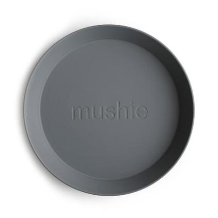 Mushie® Set due piatti Smoke