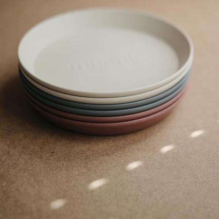 Immagine di Mushie® Set due piatti Smoke