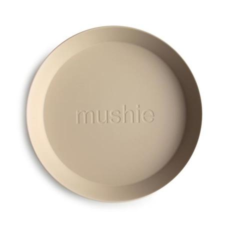 Mushie® Set due piatti Vanilla