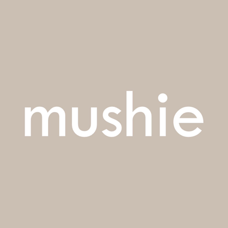 Immagine di Mushie® Spazzolino da denti per il dito Cambridge Blue/ShiftingSand