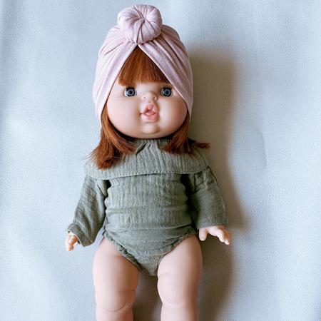 Minikane® Vestito per le bambole Colette Vert Olive 34cm
